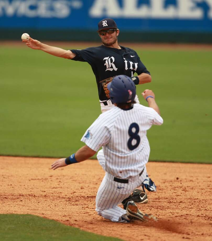 Chicago White Sox - 16th round, 483rd overall Christian Stringer, SS, Rice  Not pictured  Cleveland Indians - 17th round, 501st overall Ryan Hendrix, RHP, Cypress Woods