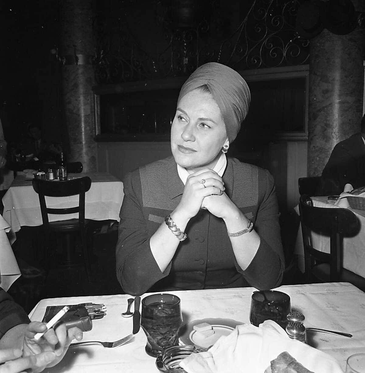 Claramae Turner Hoffmann. May 15, 1963.