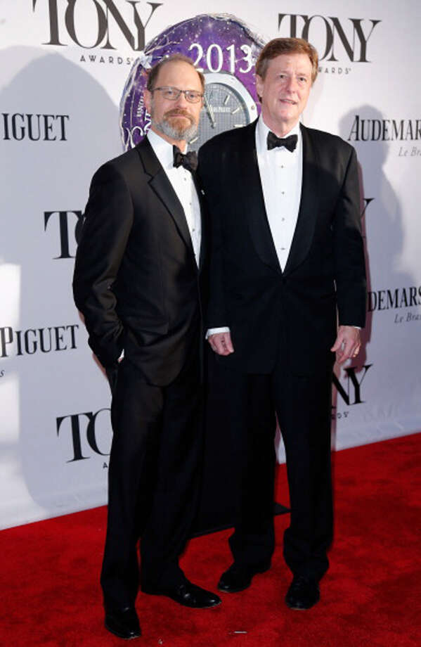 NEW YORK, NY - JUNE 09: David Hyde Pierce (L) and Brian Hargrove attend The 67th Annual Tony Awards at Radio City Music Hall on June 9, 2013 in New York City.  (Photo by Jemal Countess/WireImage for Tony Awards Productions) Photo: Jemal Countess, WireImage For Tony Awards Produc / Getty Images
