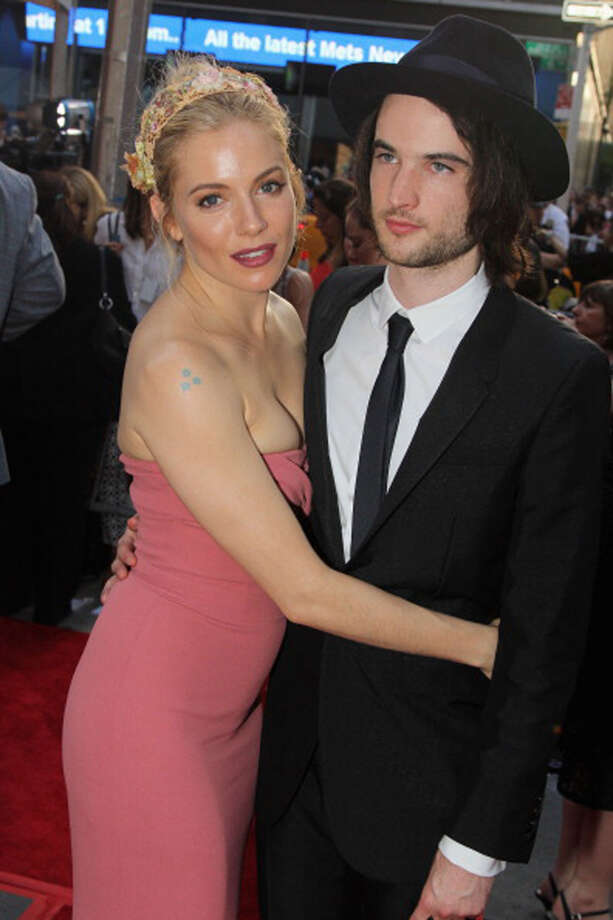 NEW YORK, NY - JUNE 09:  Actors  Sienna Miller and Tom Sturridge attends the 67th Annual Tony Awards at Radio City Music Hall on June 9, 2013 in New York City.  (Photo by Bruce Glikas/FilmMagic) Photo: Bruce Glikas, FilmMagic / Getty Images