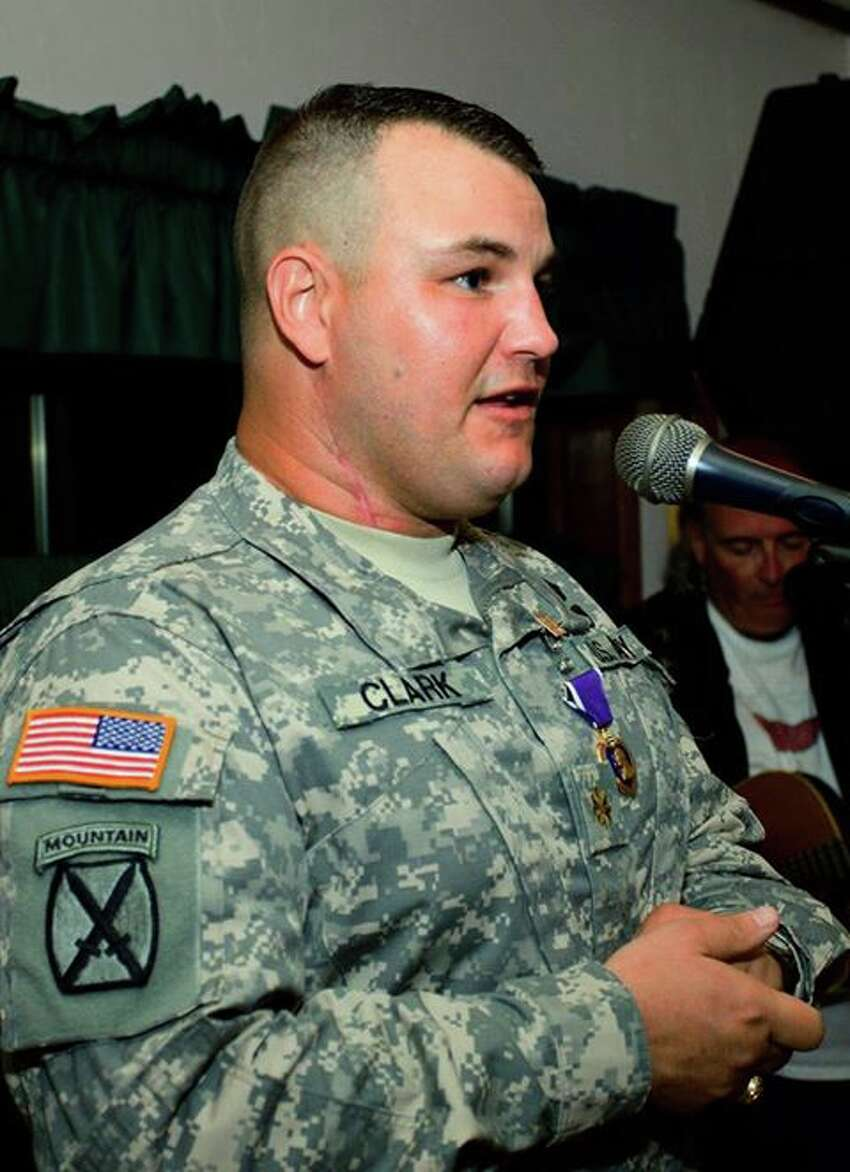 U.S. Army Lt. Col. Todd Clark, 40, an Albany native and father of two, died Saturday, June 8, 2013, while serving in Afghanistan. (Photo via Mike Connors)