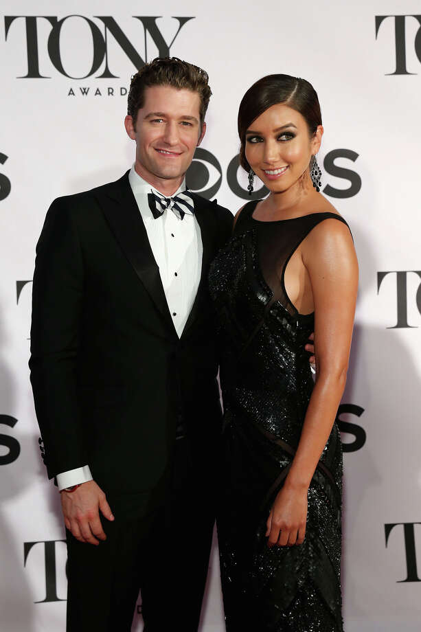 NEW YORK, NY - JUNE 09:  Actor/Singer Matthew Morrison and Renee Puente attend The 67th Annual Tony Awards  at Radio City Music Hall on June 9, 2013 in New York City.  (Photo by Neilson Barnard/Getty Images) Photo: Neilson Barnard, Getty Images / Getty Images