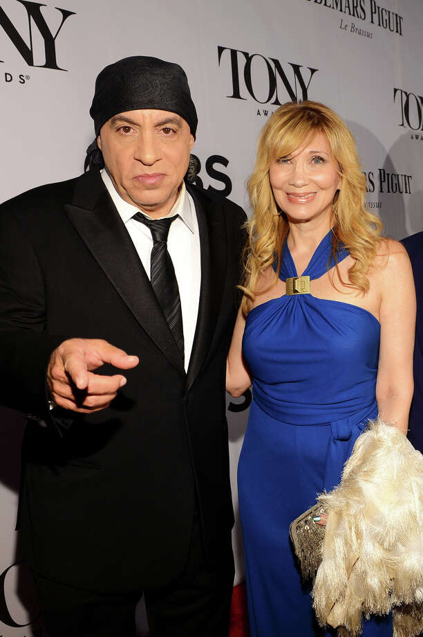 NEW YORK, NY - JUNE 09:  Steven Van Zandt (L) and Maureen Van Zandt attend The 67th Annual Tony Awards at Radio City Music Hall on June 9, 2013 in New York City.  (Photo by Larry Busacca/Getty Images for Tony Awards Productions) Photo: Larry Busacca, Getty Images For Tony Awards Pro / Getty Images