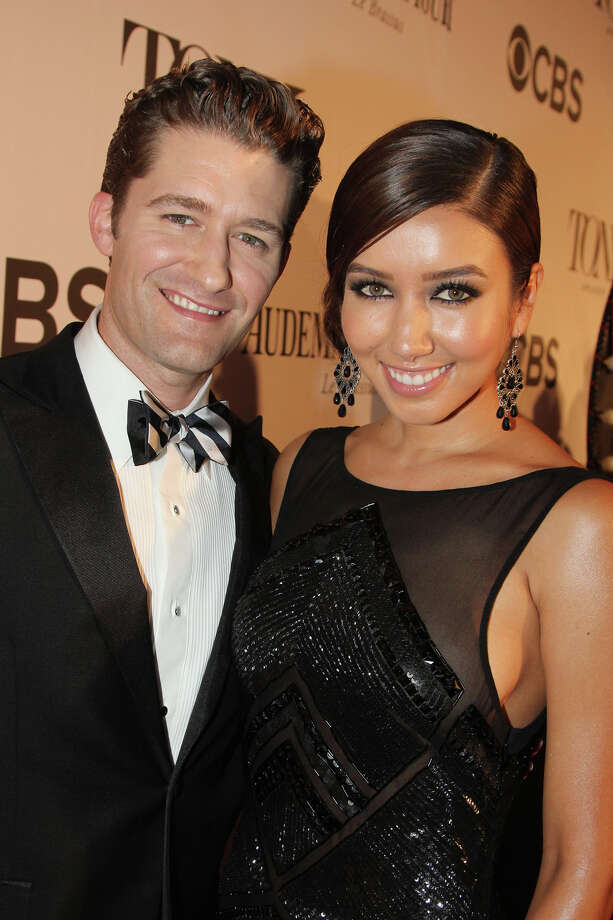 NEW YORK, NY - JUNE 09:  Actor/Singer Matthew Morrison and Renee Puente attend The 67th Annual Tony Awards  at Radio City Music Hall on June 9, 2013 in New York City.  (Photo by Bruce Glikas/FilmMagic) Photo: Bruce Glikas, FilmMagic / Getty Images