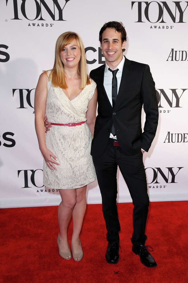NEW YORK, NY - JUNE 09:  Nexxus contest winner Julie Christianson and guest Mark Oxman attend The 67th Annual Tony Awards at Radio City Music Hall on June 9, 2013 in New York City.  (Photo by Jemal Countess/Getty Images for Nexxus) Photo: Jemal Countess, Getty Images For Nexxus / Getty Images