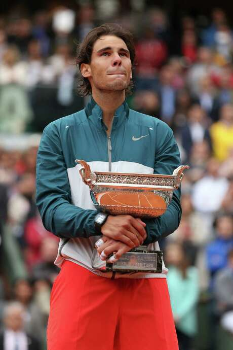 Yet again, Rafael Nadal stands alone in Paris. Photo: Matthew Stockman, Staff / 2013 Getty Images