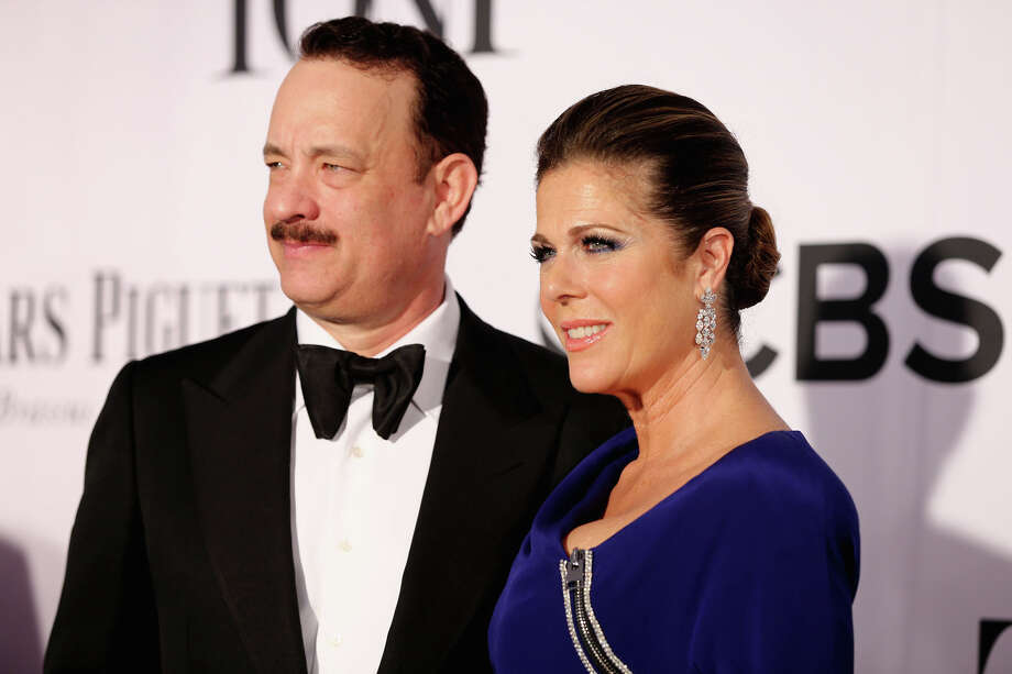 NEW YORK, NY - JUNE 09:  Actors Tom Hanks and Rita Wilson attend The 67th Annual Tony Awards  at Radio City Music Hall on June 9, 2013 in New York City.  (Photo by Neilson Barnard/Getty Images) Photo: Neilson Barnard, Getty Images / Getty Images