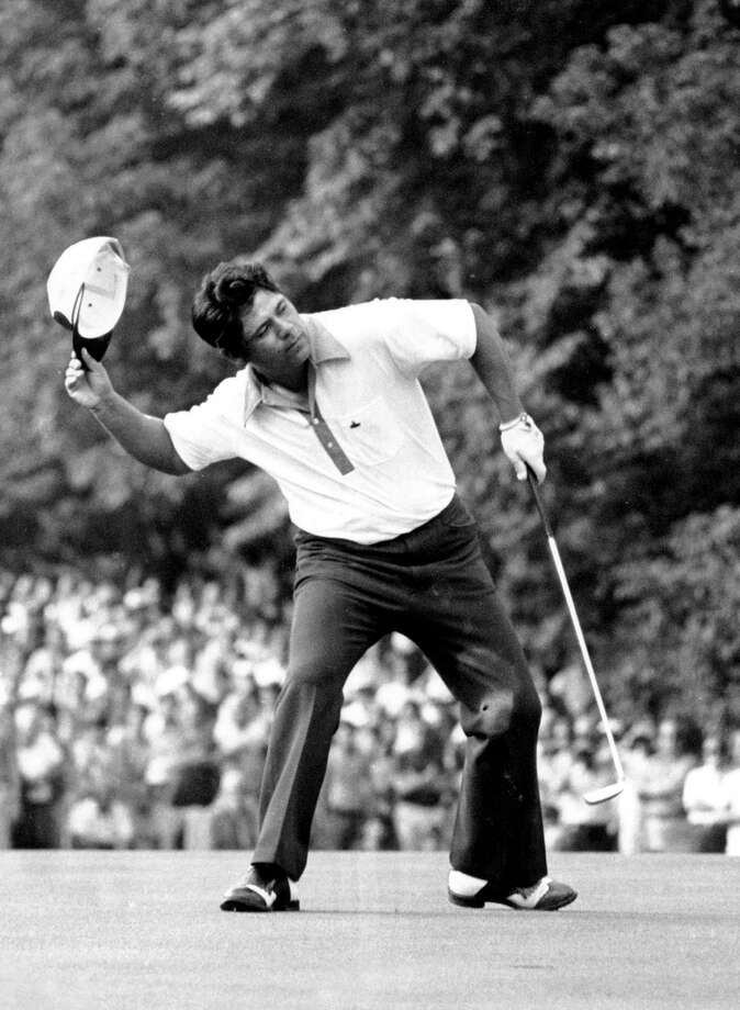 Lee Trevino defeated Jack Nicklaus in a memorable 18-hole playoff to win the 1971 U.S. Open at Merion Golf Club in Ardmore, Pa. Photo: Associated Press File Photo
