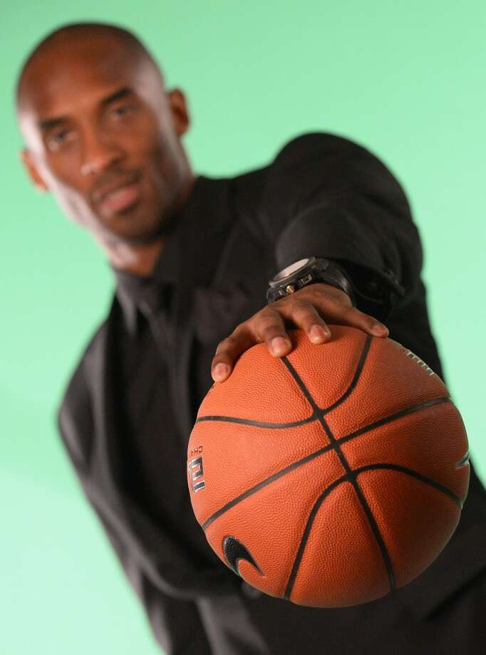 Tall, trim and wearing catwalk clothes: Pro basketball stars have stepped up their style to become influential tastemakers. Here are some of the latest looks sported by the NBA's MSPs — most stylish players.  PHOTO: Los Angeles Laker Kobe Bryant poses for pictures as he attends the celebration of Hublot's new brand ambassador Kobe Bryant on March 20, 2013 in Los Angeles, California.  AFP PHOTO /JOE KLAMAR        (Photo credit should read JOE KLAMAR/AFP/Getty Images)
