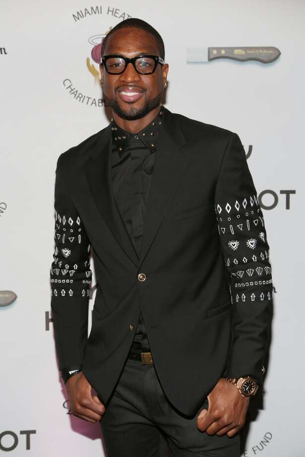 "Dwyane Wade attends the Miami HEAT Family Foundation night of ""Motown Revue"" on February 27, 2013 in Miami, Florida. (Photo by Alexander Tamargo/Getty Images)"