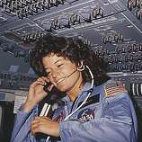 Pioneering female astronaut Sally Ride, Stanford.