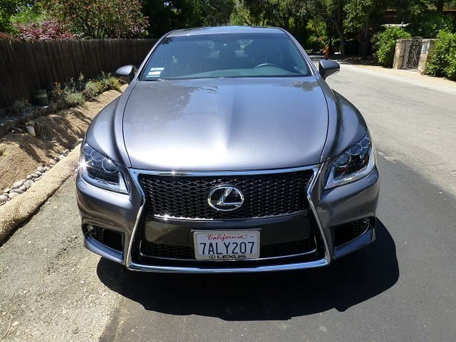"Perhaps the most distinctive aspect of the ""F Sport"" moniker is what Lexus calls its 'spindle' grille, that flare of grille-work that brackets the license plate."