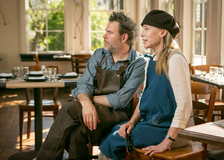 Daniel DeLong and Margaret Grade of Sir and Star in Olema. Photo: John Storey, Special To The Chronicle
