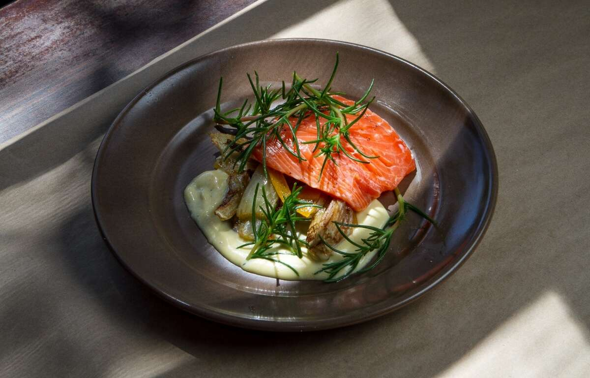 King Salmon at Sir and Star in Olema.