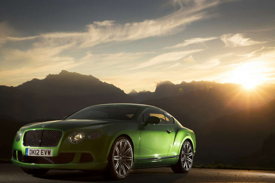 A 2013 Bentley Continental GT Speed. The Bentley is a classic grand touring car, meant to cover great distances in speed, comfort and style. Bentley Motors via Bloomberg