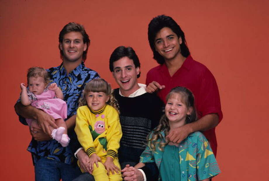 "19. Danny Tanner, TV Host, ""Full House"" Photo: Bob D'Amico, Getty Images / 1987 American Broadcasting Companies, Inc."