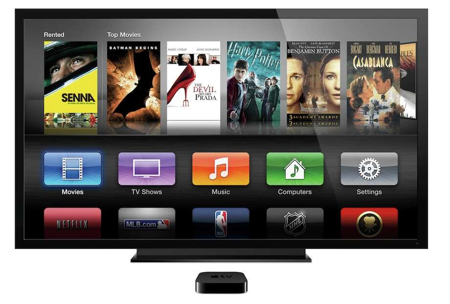 Apple TV's interface is a lot like that of the company's smartphones and tablets. Photo: Apple