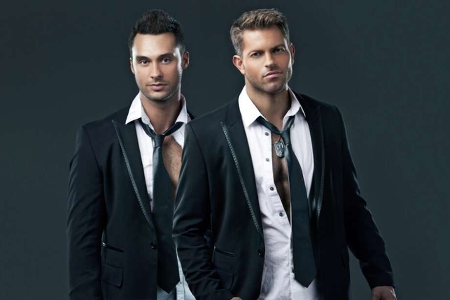 "Jaymes Vaughan and James Davis (Team Chippendales) were runners-up on season 21 of ""The Amazing Race."""