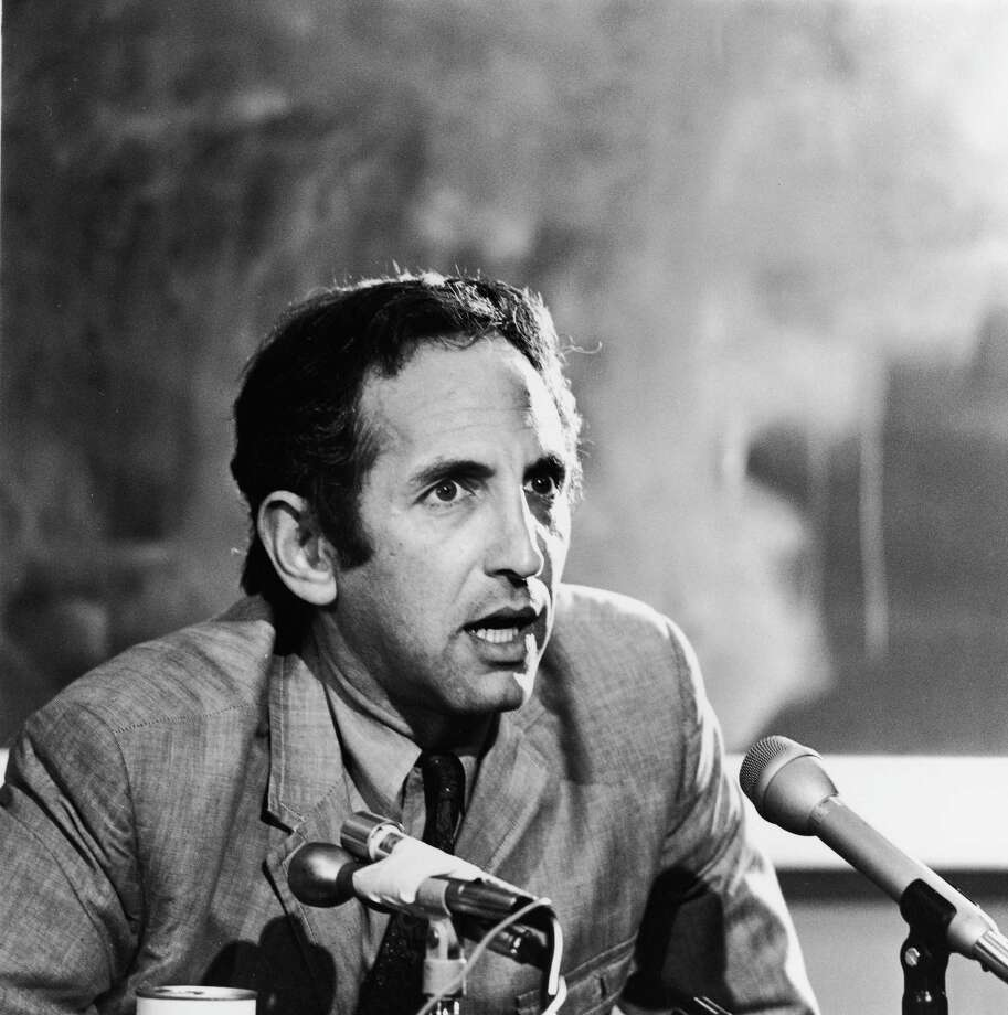 "Daniel Ellsberg was a military analyst working for the RAND Corporation in 1971 when he provided the New York Times with a series of documents known as the Pentagon Papers. The Times wrote that the papers ""demonstrated, among other things, that the Lyndon Baines Johnson Administration had systematically lied, not only to the public but also to Congress, about a subject of transcendent national interest and significance"" Photo: Hulton Archive, File / 2003 Getty Images"