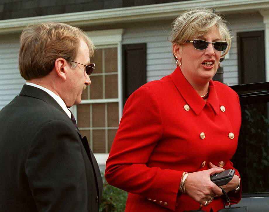 Linda Tripp secretly recorded conversations with former White House intern Monica Lewinsky detailing her relationship with President Bill Clinton. Tripp was vilified by the media, but escaped wire tapping charges be handing the tapes over to Ken Starr in 1998. Photo: JAMAL A. WILSON, File / AFP