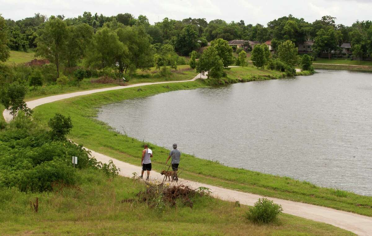 Mason Park's trail is a key link in Houston's trail system.