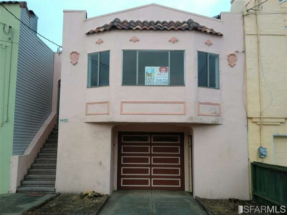 Property #2, also in Parkside, is a 3 bed, 2.5 bath fixer of 1,450 square feet. Asking $698K.