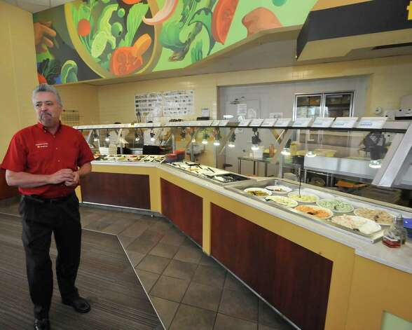 29. Golden Corral, 2190 Interstate 10 South. From ribs and steak to mexican fare, reviewers like the variety of food available at this buffet. Photo: Dave Ryan