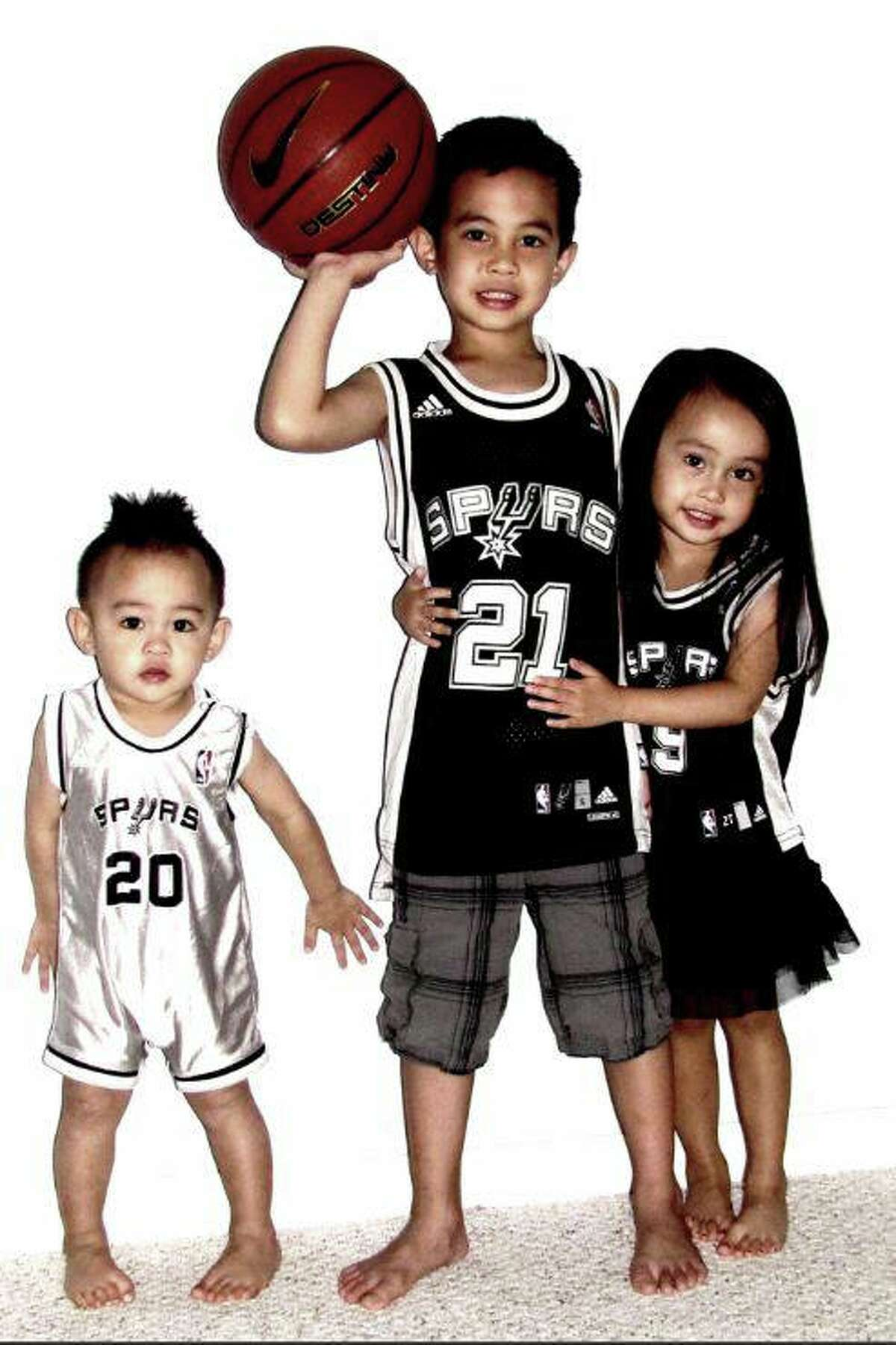 There's no question that Spurs fans are the best in the NBA. Click ahead for more fan photos from readers. Share your Spurs fan photos here.