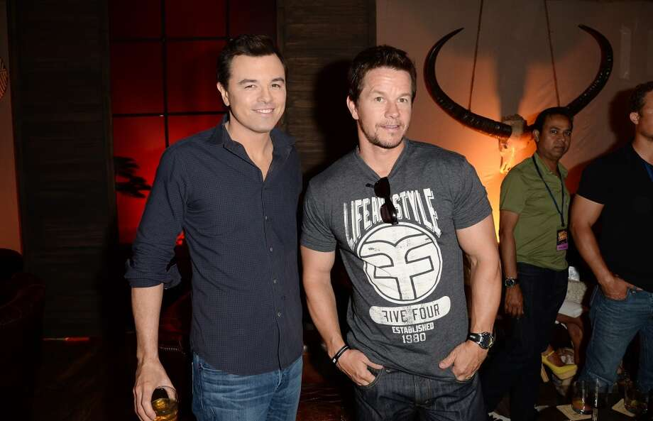 CULVER CITY, CA - JUNE 08: Actors Seth MacFarlane (L) and Mark Wahlberg attend Spike TV's Guys Choice 2013 at Sony Pictures Studios on June 8, 2013 in Culver City, California.  (Photo by Jason Merritt/Getty Images for Spike TV)