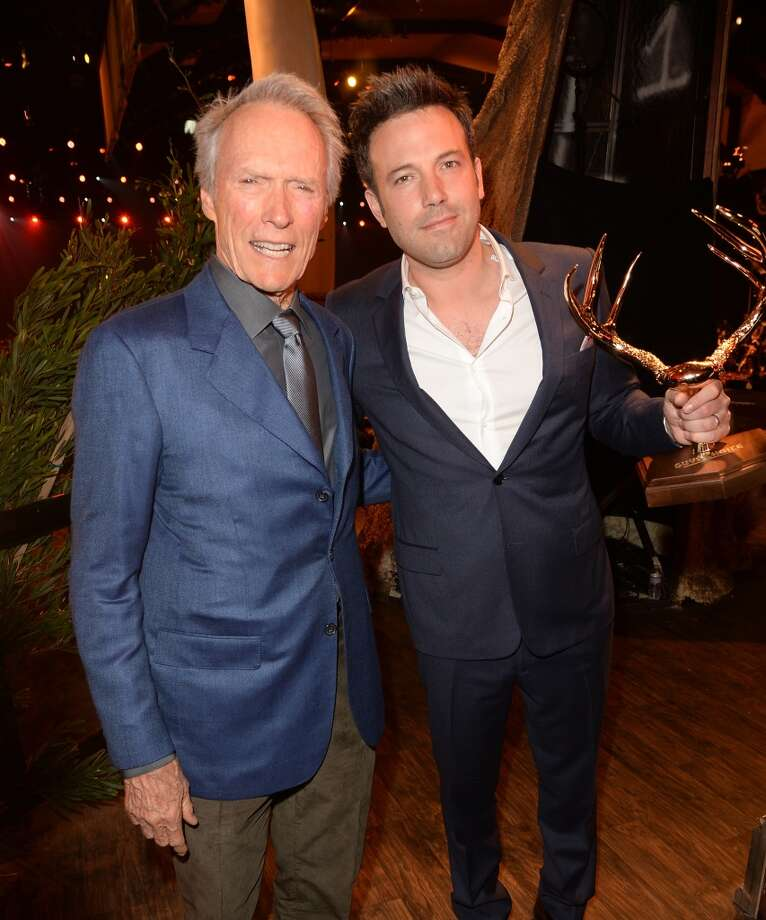CULVER CITY, CA - JUNE 08:  Directors Clint Eastwood (L) and Ben Affleck attend Spike TV's Guys Choice 2013 at Sony Pictures Studios on June 8, 2013 in Culver City, California.  (Photo by Jason Merritt/Getty Images for Spike TV)