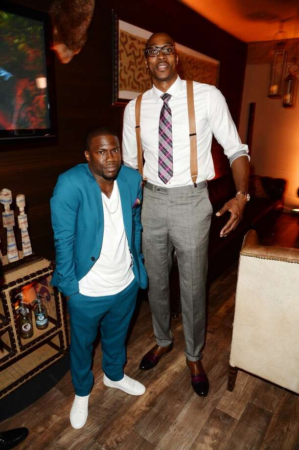 CULVER CITY, CA - JUNE 08: Comedian Kevin Hart (L) and professional basketball player Dwight Howard attend Spike TV's Guys Choice 2013 at Sony Pictures Studios on June 8, 2013 in Culver City, California.  (Photo by Jason Merritt/Getty Images for Spike TV)
