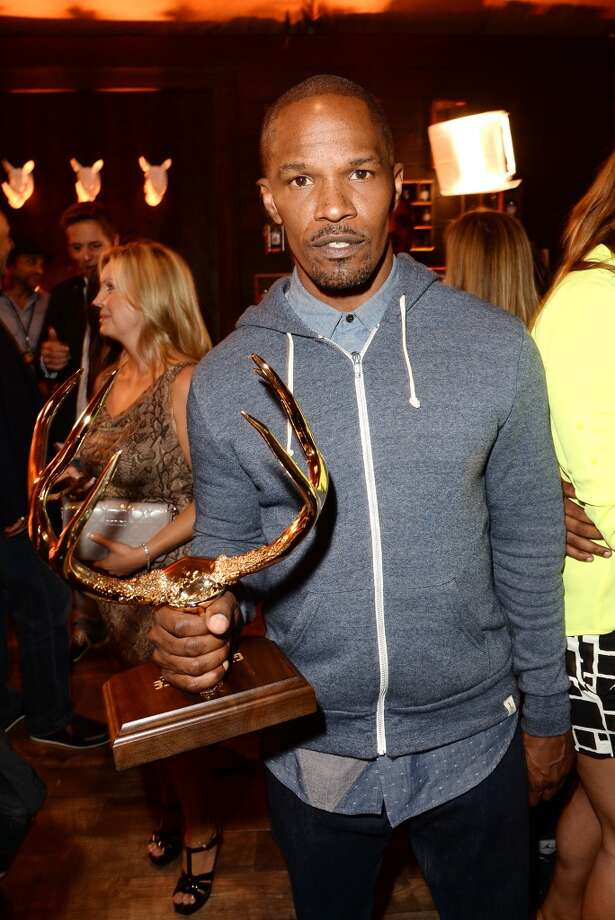 CULVER CITY, CA - JUNE 08: Actor Jamie Foxx attends Spike TV's Guys Choice 2013 at Sony Pictures Studios on June 8, 2013 in Culver City, California.  (Photo by Jason Merritt/Getty Images for Spike TV)