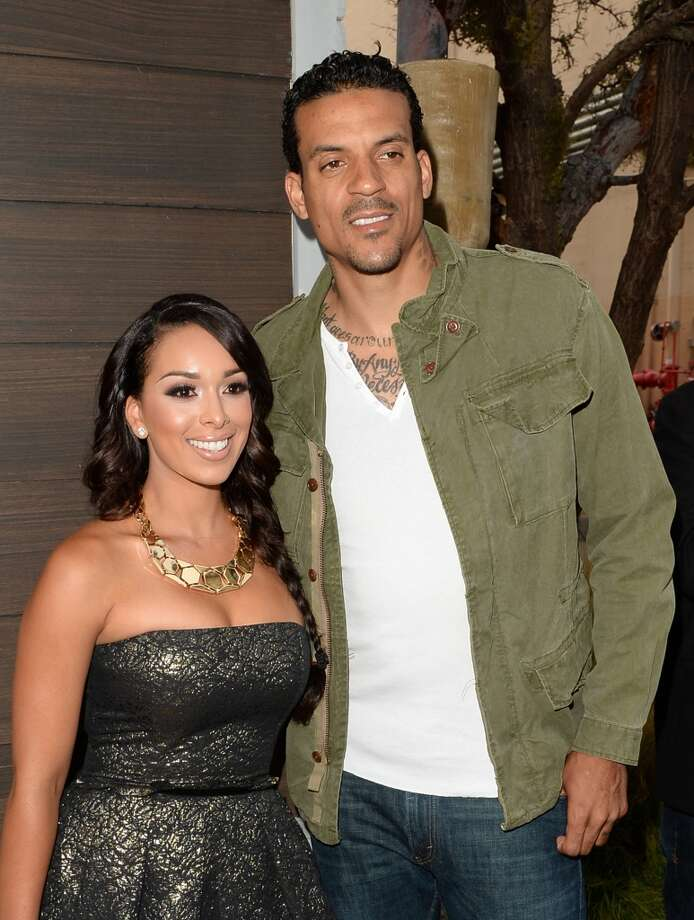 CULVER CITY, CA - JUNE 08:  TV personality Gloria Govan and NBA player Matt Barnes attend Spike TV's Guys Choice 2013 at Sony Pictures Studios on June 8, 2013 in Culver City, California.  (Photo by Jason Merritt/Getty Images for Spike TV)