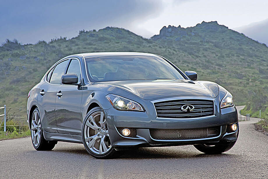 2013 Infiniti M56 (photo courtesy Infiniti) Photo: Nissan / Copyright 2012