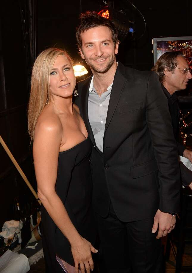 Actors Jennifer Aniston and Bradley Cooper attend Spike TV's Guys Choice 2013 at Sony Pictures Studios on June 8, 2013 in Culver City, California.  (Photo by Jason Merritt/Getty Images for Spike TV)