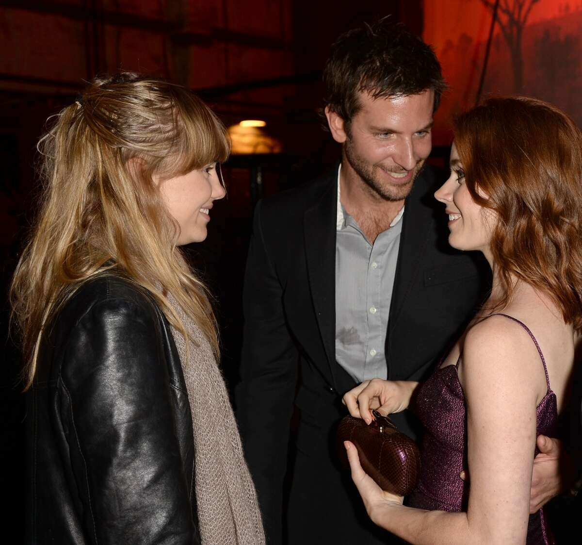 CULVER CITY, CA - JUNE 08: (L-R) Model Suki Waterhouse and actors Bradley Cooper and Amy Adams attend Spike TV's Guys Choice 2013 at Sony Pictures Studios on June 8, 2013 in Culver City, California. (Photo by Jason Merritt/Getty Images for Spike TV)