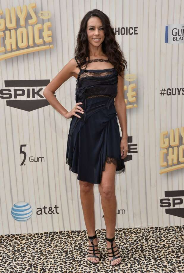 "CULVER CITY, CA - JUNE 08:  TV personality Terri Seymour attends Spike TV's ""Guys Choice 2013"" at Sony Pictures Studios on June 8, 2013 in Culver City, California.  (Photo by Frazer Harrison/Getty Images for Spike TV)"