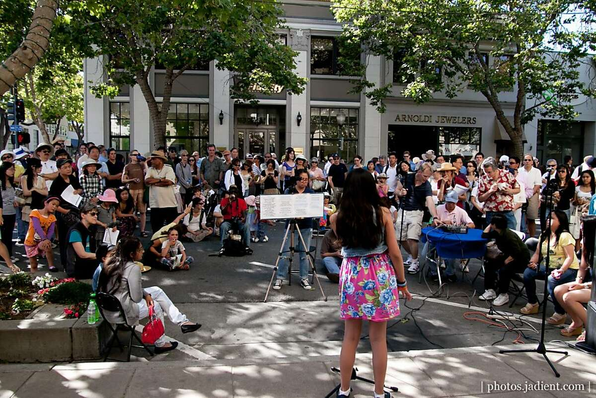 Gen2 performs at Palo Alto World Music Day