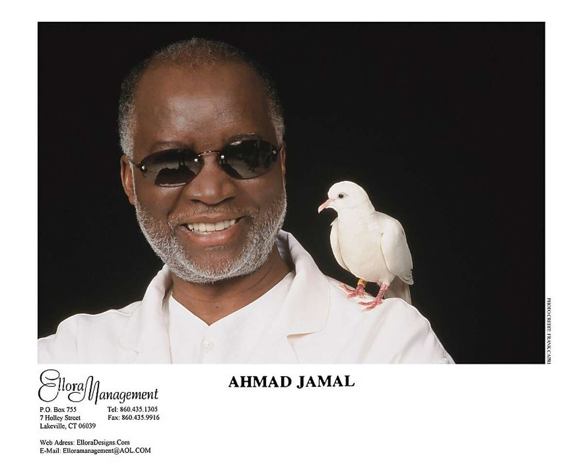 Ahmad Jamal: The pianist was raised on jazz and European classical music at Yoshi's San Francisco.