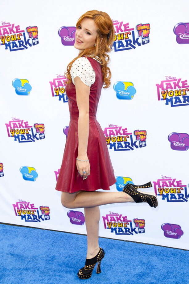 Actress Bella Thorne Photo: Imeh Akpanudosen, Getty Images / 2012 Imeh Akpanudosen