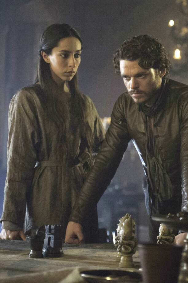 "To hear what happens to Talisa Maegyr (Oona Chaplin) and Robb Stark (Richard Madden) of ""Game of Thrones"" is to know only half the story. Photo: HBO"