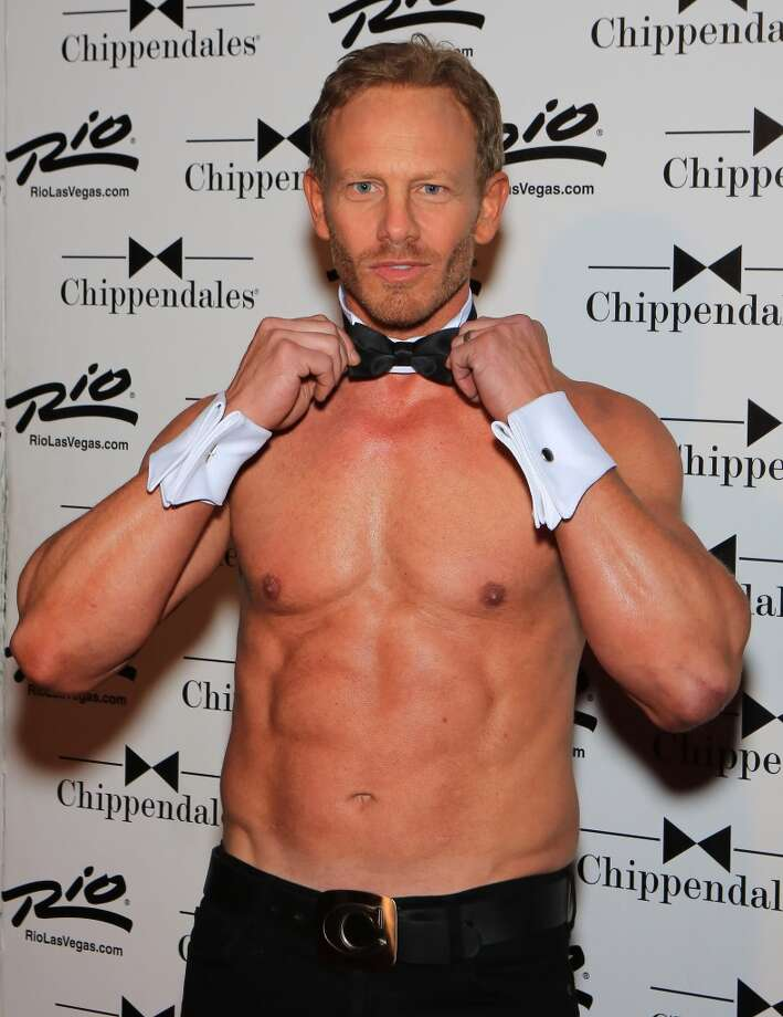 Actor Ian Ziering arrives to guest host Chippendales at the Rio Hotel & Casino on June 8, 2013 in Las Vegas, Nevada.  (Photo by Gabe Ginsberg/FilmMagic)