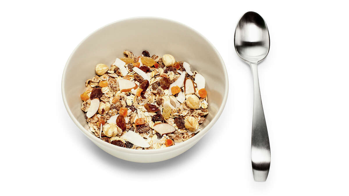 Granola: This is often masked as healthy, but a 1/2 - 3/4 cup of most types of cereal is equal to only 1/4 cup of granola in calorie count.