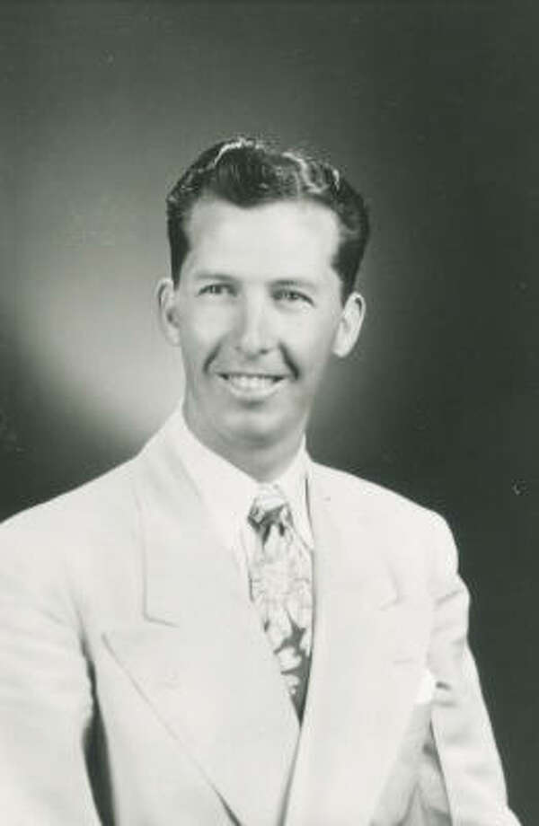 Pastor John Osteen - Joel's father - in the early days of his ministry, long before anyone could have imagined today's Lakewood Church. Photo: Provided By Lakewood Church