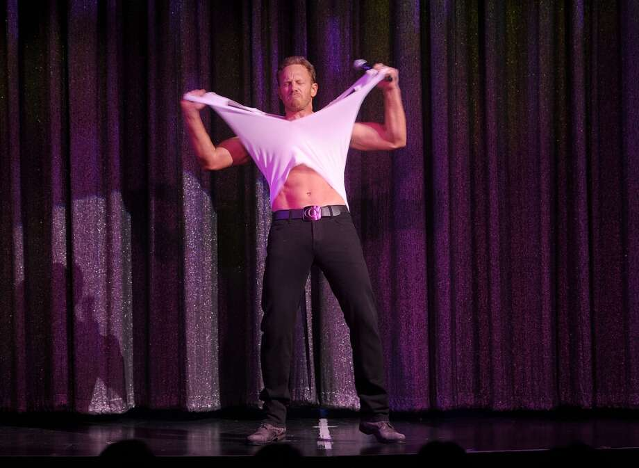LAS VEGAS, NV - JUNE 08:  Ian Ziering debuts in Chippendales at the Rio All-Suite Hotel and Casino on June 8, 2013 in Las Vegas, Nevada.  (Photo by Denise Truscello/WireImage)