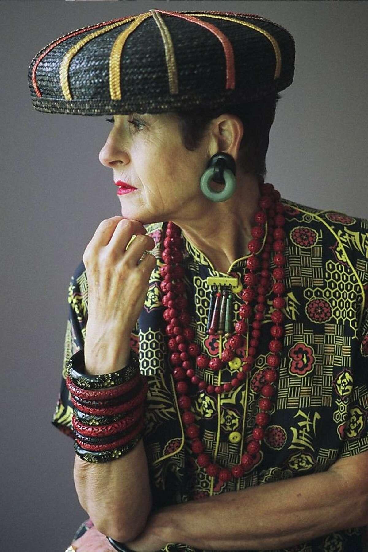 New Yorker Tziporah Salamon, a favorite photo subject of Bill Cunningham, will be teaching her