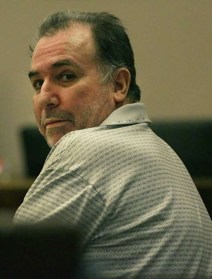 David Loven sits in the 186th District Court on trial for child molestation, on Wednesday, June 5. Photo: San Antonio Express-News