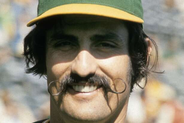Rollie Fingers — The A's of the early 70s were filled with legendary personalities, but Rollie still has the best mustache in all of professional sports, bar none.