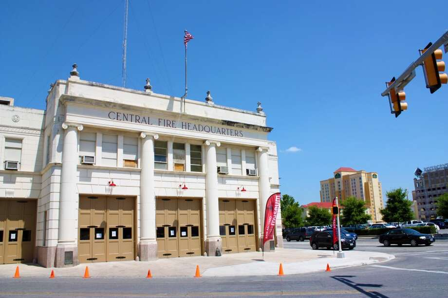The San Antonio Fire Museum,  810 E. Houston St., opened on May 31. Photo: Emily Bamforth, Express-News