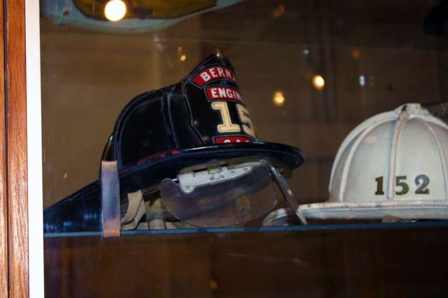 The museum houses numerous uniform items. Many of these are donated by firefighters. Photo: Emily Bamforth , MySA.com